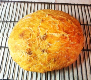 Crusty Overnight Bread