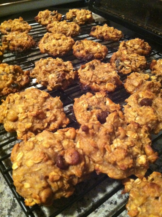 breakfast oatmeal cookies