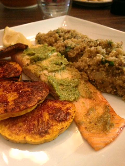 fall dinner plate